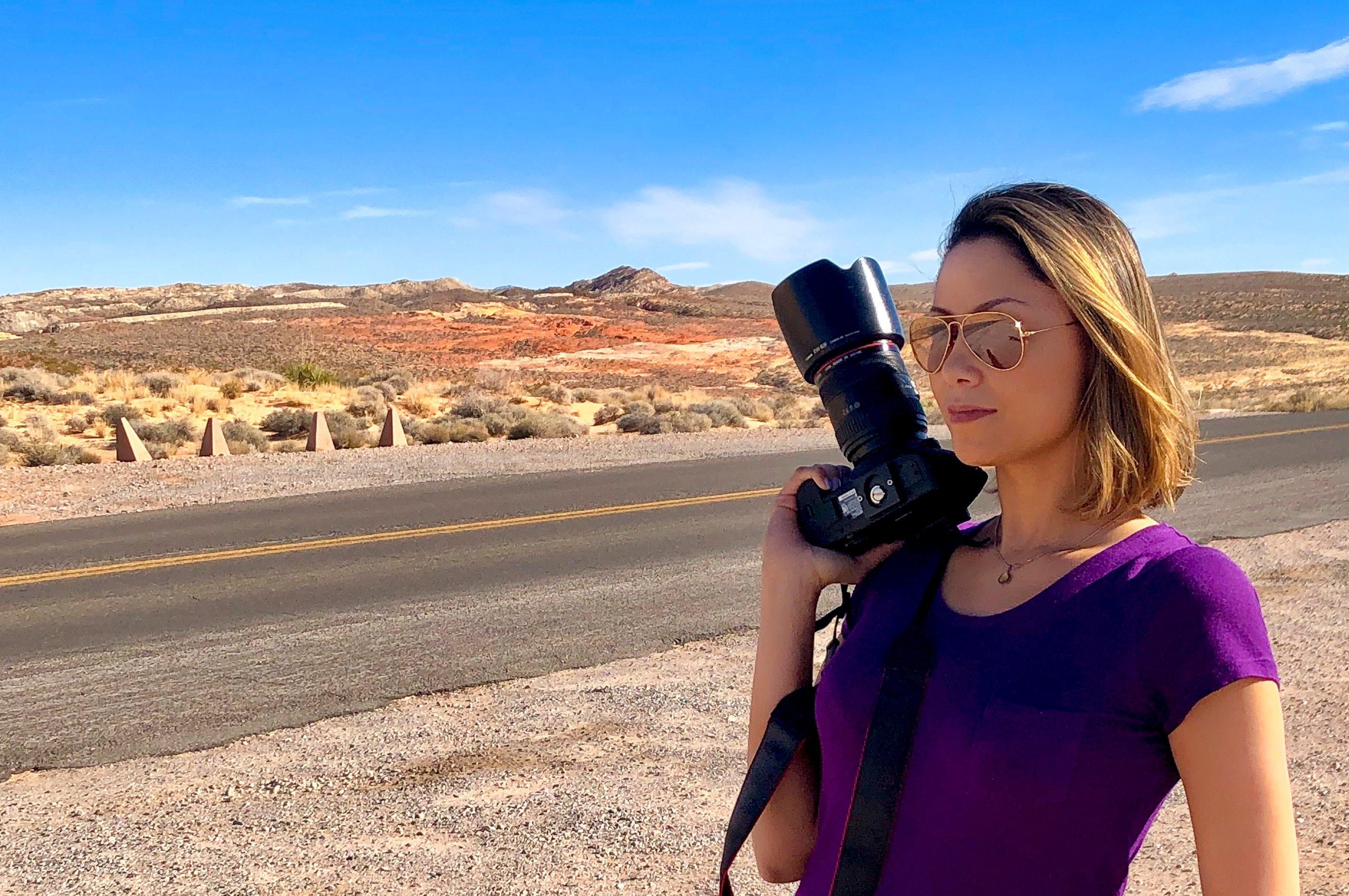 Luana Maggion @Valley of Fire - Nevada