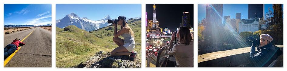 Luana Maggion loves photography